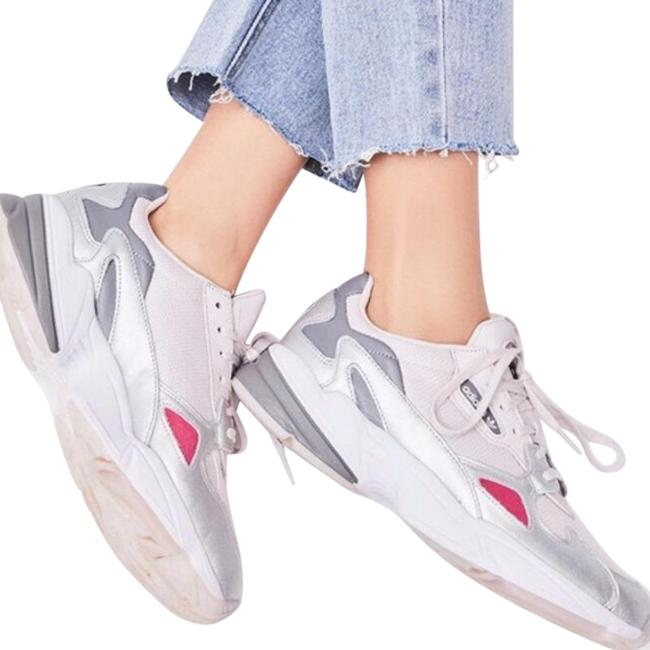 Item - White Falcon In Orchid Tint Silver Sneakers Size US 10 Regular (M, B)