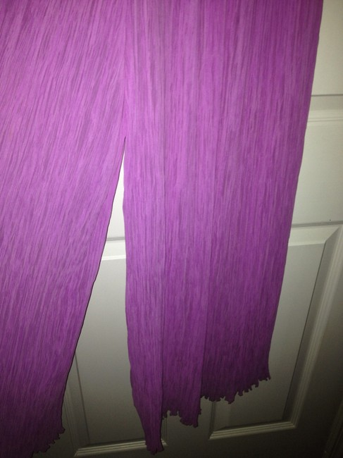 Mary McFadden Vintage Mary McFadden Couture Pink Pleated Long Formal Evening 2 pc Sz