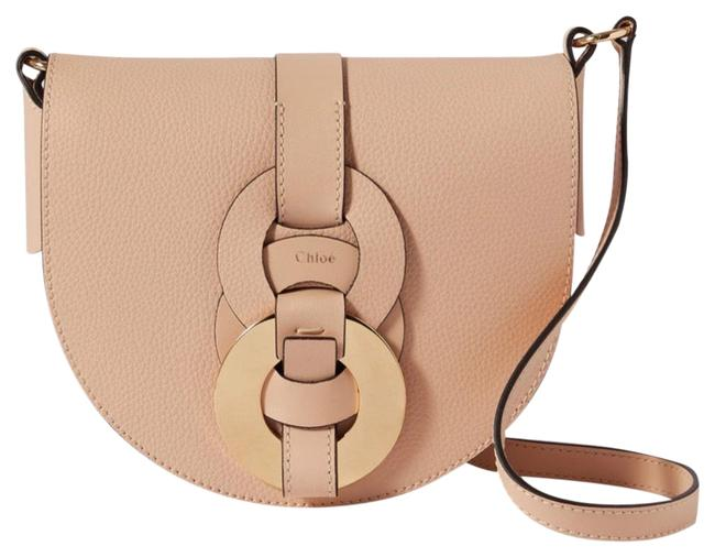 Item - Shoulder Darryl Small Textured-leather Beige Leather Cross Body Bag