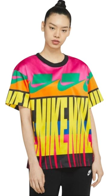 Item - Yellow Nsw All-over Print Large Activewear Top Size 12 (L)