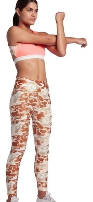Item - Brown XS Women's Camo Training Tights Activewear Bottoms Size 2 (XS, 26)
