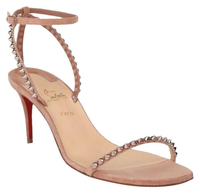 Item - Nude So Me Spike Suede Sandals Size EU 35 (Approx. US 5) Regular (M, B)