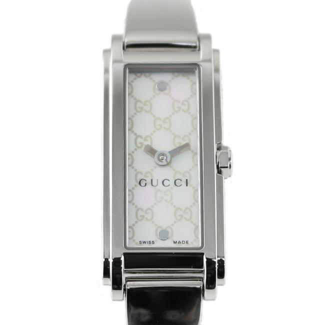 Item - Ss Bangle Gg Silver White Ladies Stainless Steel Watch