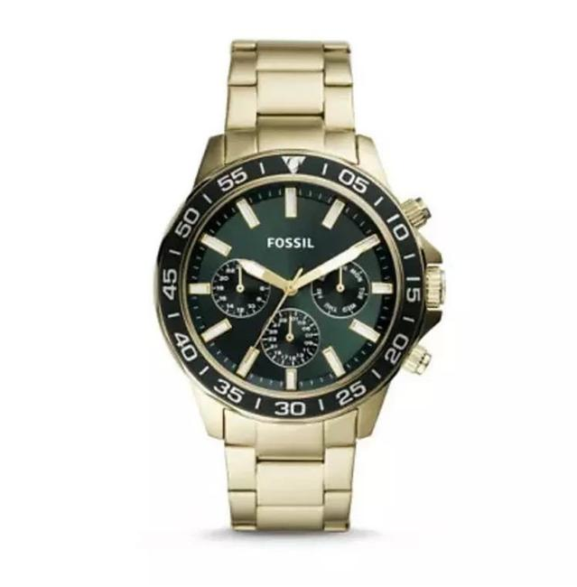 Item - Gold Bq2493 Bannon Multifunction Tone Stainless Steel Watch