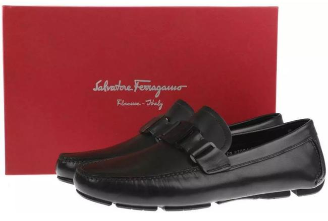 Item - Black New Sardegna11 Leather Moccasins Driving Eee Flats Size US 8 Extra Wide (Ww, Ee)