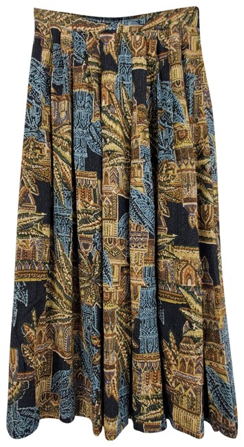 Item - Brown A-line Pleated Skirt Size 4 (S, 27)