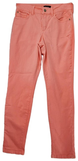 Item - Pink New Alina Comfortable Ankle Skinny Jeans Size 26 (2, XS)