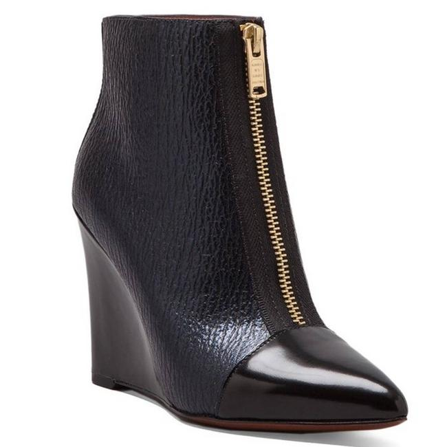 Item - Blue On Point 95mm Wedge Boots/Booties Size EU 39 (Approx. US 9) Regular (M, B)