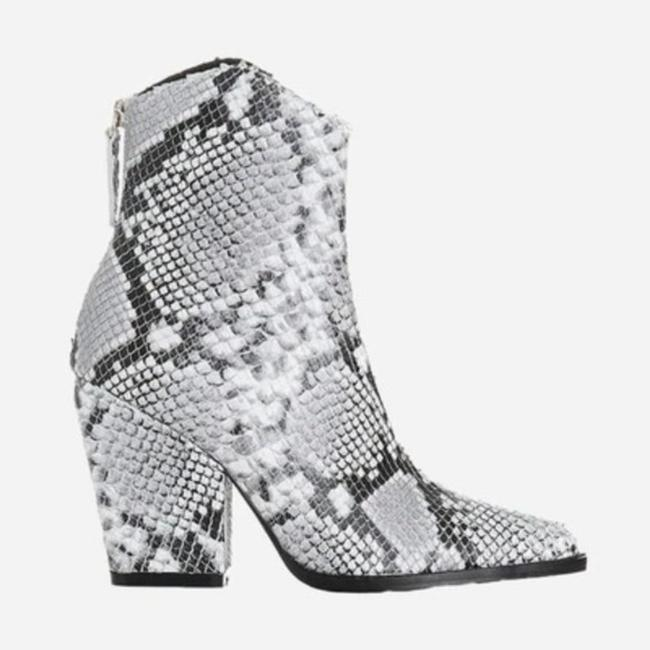 Alias Mae Gray West Pointed Toe Ankle Snake Boots/Booties Size EU 37 (Approx. US 7) Regular (M, B) Alias Mae Gray West Pointed Toe Ankle Snake Boots/Booties Size EU 37 (Approx. US 7) Regular (M, B) Image 2