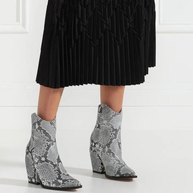 Alias Mae Gray West Pointed Toe Ankle Snake Boots/Booties Size EU 37 (Approx. US 7) Regular (M, B) Alias Mae Gray West Pointed Toe Ankle Snake Boots/Booties Size EU 37 (Approx. US 7) Regular (M, B) Image 3