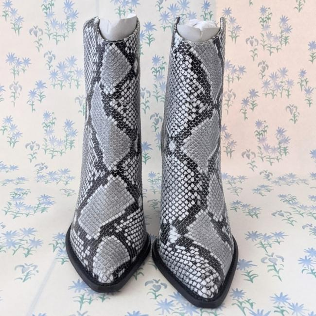 Alias Mae Gray West Pointed Toe Ankle Snake Boots/Booties Size EU 37 (Approx. US 7) Regular (M, B) Alias Mae Gray West Pointed Toe Ankle Snake Boots/Booties Size EU 37 (Approx. US 7) Regular (M, B) Image 6