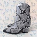 Alias Mae Gray West Pointed Toe Ankle Snake Boots/Booties Size EU 37 (Approx. US 7) Regular (M, B) Alias Mae Gray West Pointed Toe Ankle Snake Boots/Booties Size EU 37 (Approx. US 7) Regular (M, B) Image 7