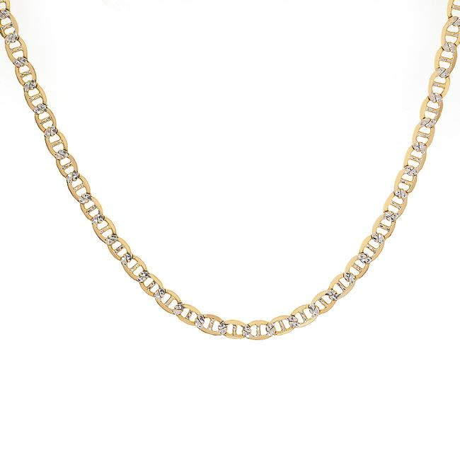 """Item - 14k Yellow Gold Diamond Cut Gucci Link 20"""" Chain Necklace"""