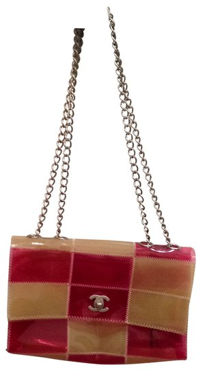 Preload https://item5.tradesy.com/images/chanel-classic-in-plastic-patches-clear-pink-and-beige-shoulder-bag-29264-0-0.jpg?width=440&height=440