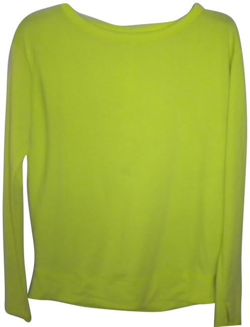 Item - Neon Lime Green XS Vsx Long Sleeve with Thumb Holes Tee Shirt Size 0 (XS)