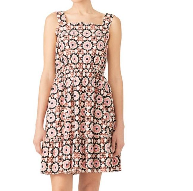 Item - Pink Nwot and Brown Sundress Short Casual Dress Size 4 (S)
