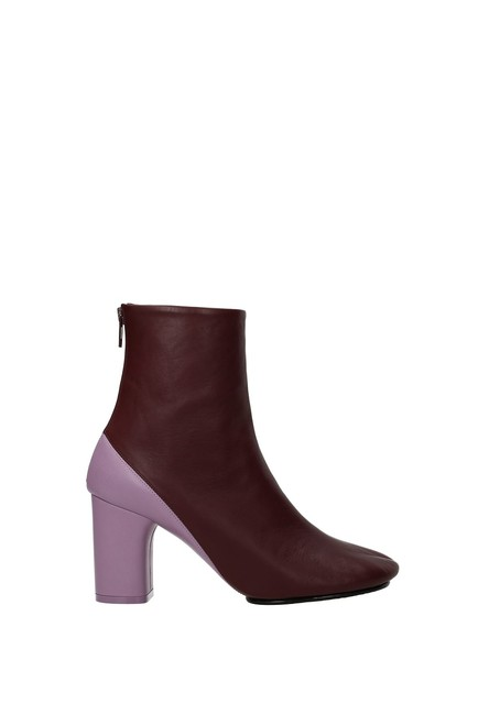 Item - Violet Ankle Women Leather Boots/Booties Size EU 40 (Approx. US 10) Regular (M, B)