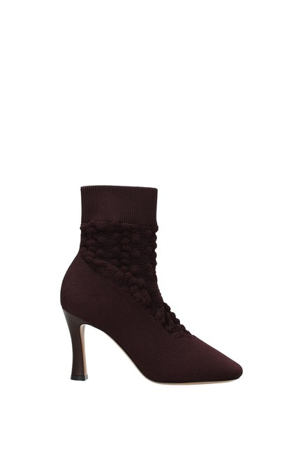 Item - Violet Ankle Glove Women Fabric Boots/Booties Size EU 37.5 (Approx. US 7.5) Regular (M, B)