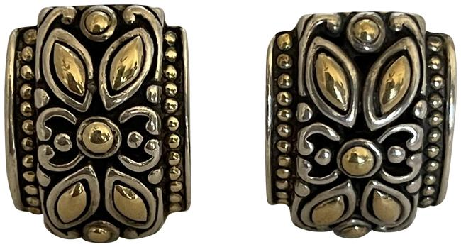 Item - Silver/Gold French Clip Earrings