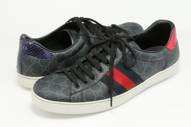 Item - Black Gg Supreme Sneakers Shoes