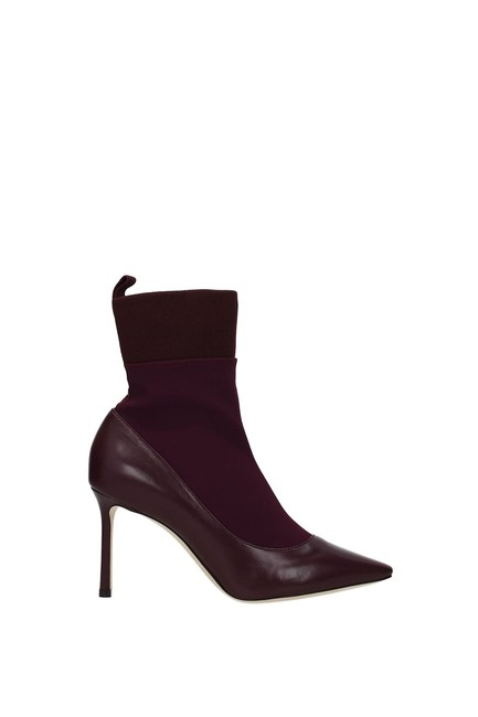 Item - Violet Ankle Brandon Women Leather Boots/Booties Size EU 37.5 (Approx. US 7.5) Regular (M, B)