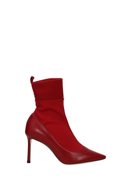Item - Red Ankle Brandon Women Leather Boots/Booties Size EU 37.5 (Approx. US 7.5) Regular (M, B)
