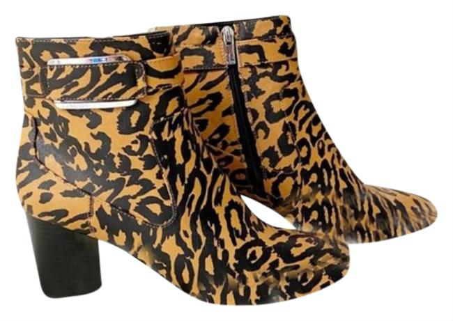 Item - Brown Cattee Ankle Leopard Print Boots/Booties Size US 9 Regular (M, B)