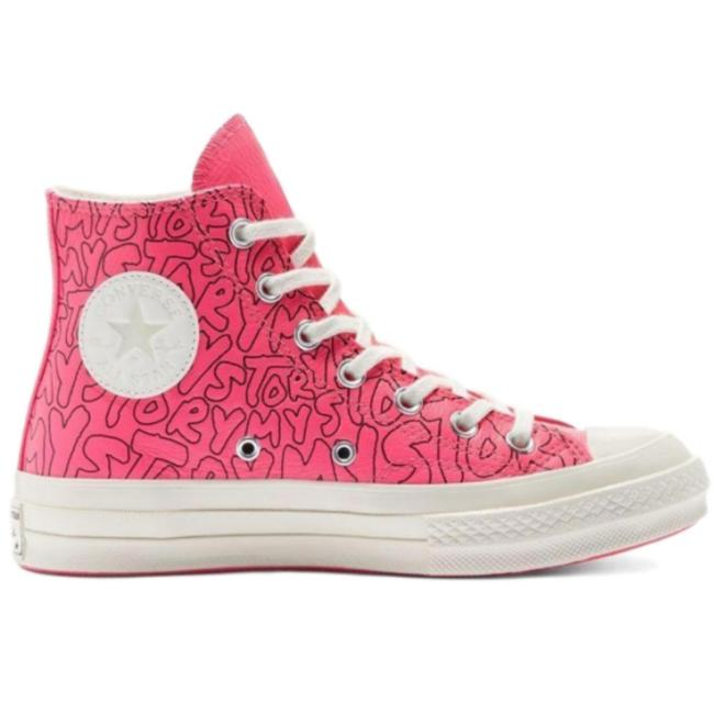 Item - Pink New Chuck 70 Unisex Color Retail 250 Sneakers Size US 4.5 Regular (M, B)