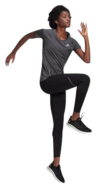 Item - Black How We Do Running Tights Activewear Bottoms Size 10 (M, 31)