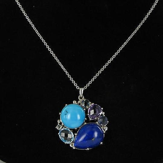 Preload https://item2.tradesy.com/images/anzie-anzie-bouquet-necklace-lapis-blue-topaz-iolite-amethyst-turquoise-925-2926831-0-0.jpg?width=440&height=440
