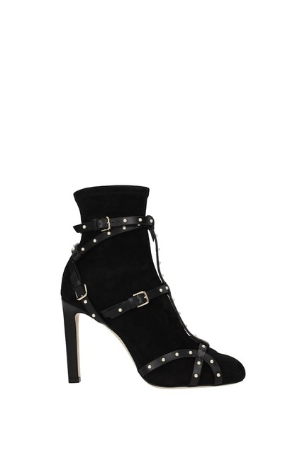 Item - Black Ankle Brianna Women Suede Boots/Booties Size EU 35.5 (Approx. US 5.5) Regular (M, B)