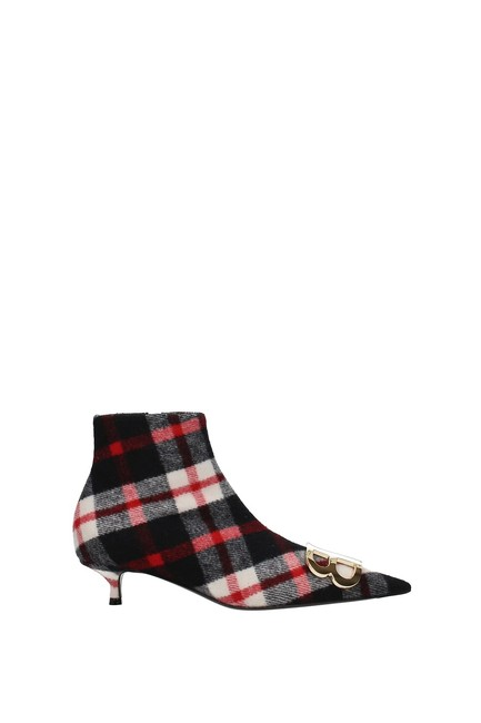 Item - Multicolor Ankle Women Fabric Boots/Booties Size EU 39.5 (Approx. US 9.5) Regular (M, B)