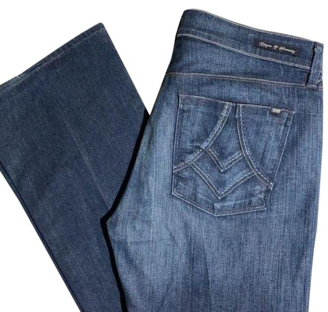Item - Blue Amber High Boot Cut Jeans Size 30 (6, M)