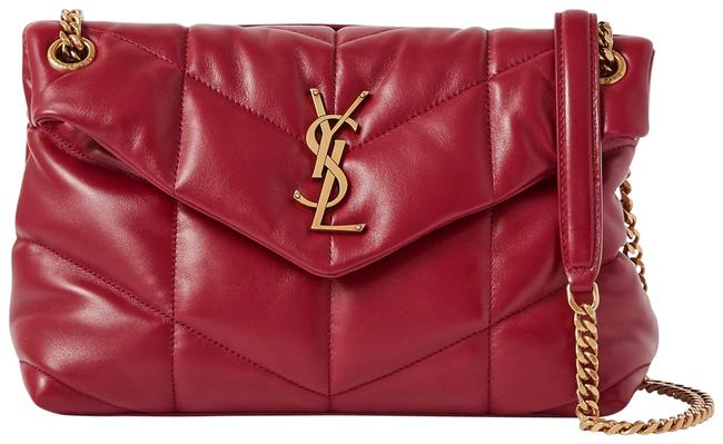 Item - Monogram Loulou Shoulder Small Quilted Red Leather Cross Body Bag