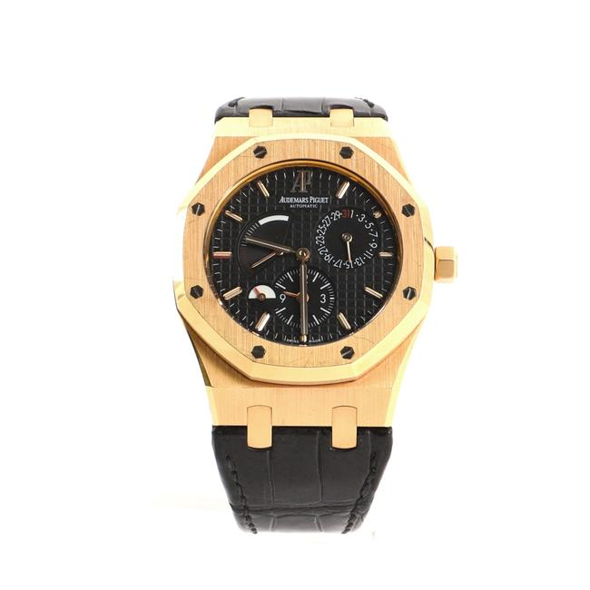 Item - Royal Oak Dual Time Rose Gold and Alligator 39 Watch