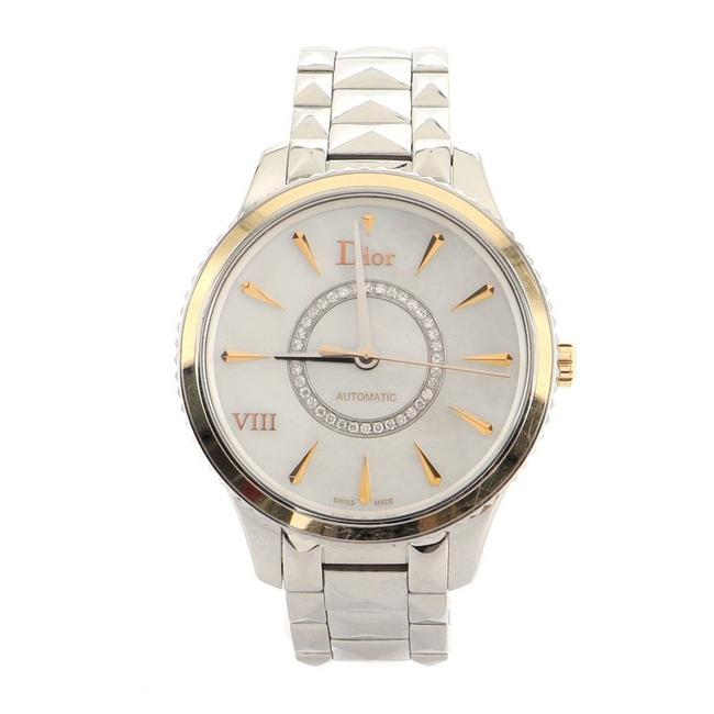Item - Montaigne Viii Stainless Steel with Rose Gold and Moth Watch
