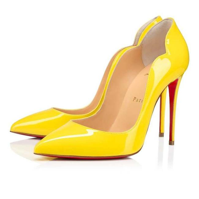 Item - Yellow Chick 100 In Patent Leather Pumps Size EU 38.5 (Approx. US 8.5) Regular (M, B)