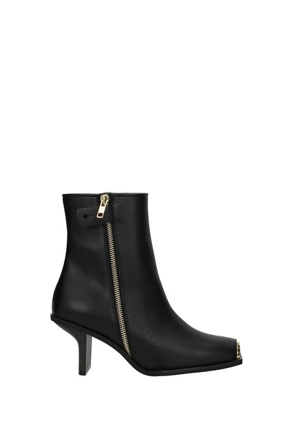 Item - Black Ankle Women Eco Leather Boots/Booties Size EU 36 (Approx. US 6) Regular (M, B)