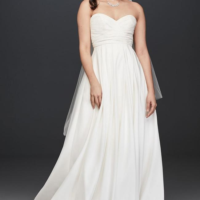 Item - White Polyester Unknown Traditional Wedding Dress Size 20 (Plus 1x)