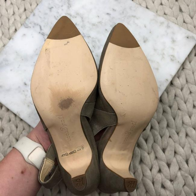 Paul Green Gold Asia Slingback Pointed Heels Pumps Size US 4 Regular (M, B) Paul Green Gold Asia Slingback Pointed Heels Pumps Size US 4 Regular (M, B) Image 6