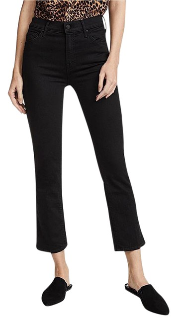 Item - Black Dark Rinse The Insider Crop In Not Guilty Capri/Cropped Jeans Size 26 (2, XS)