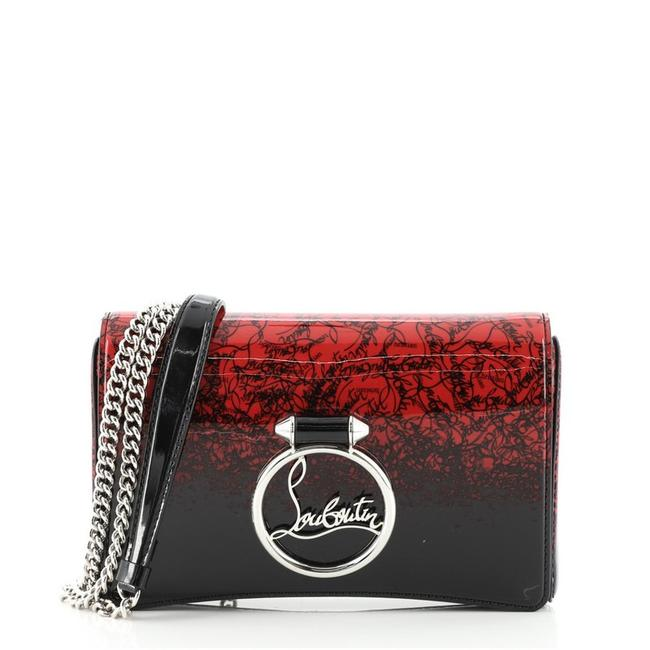 Item - Clutch Rubylou Printed Multicolor Patent Leather Cross Body Bag