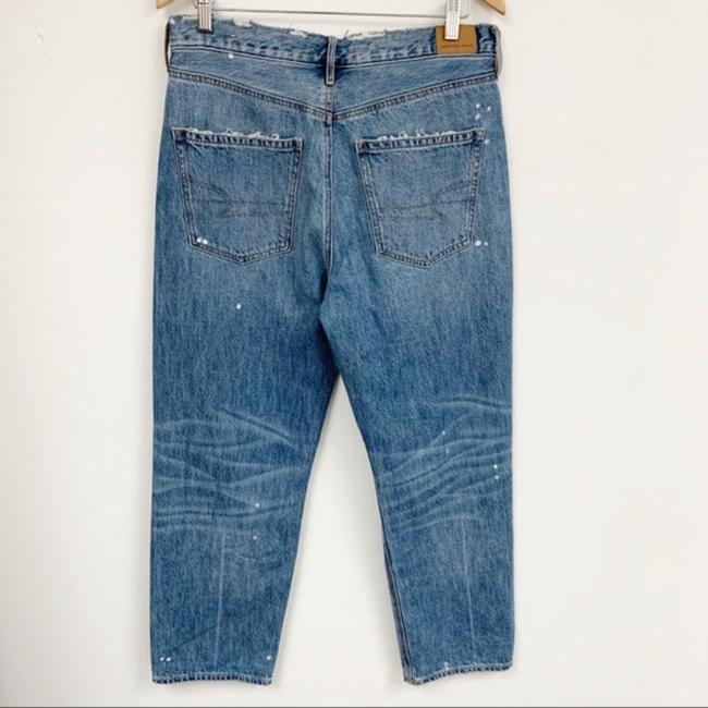 American Eagle Outfitters Blue Medium Wash 90s Distressed Boyfriend Cut Jeans Size 33 (10, M) American Eagle Outfitters Blue Medium Wash 90s Distressed Boyfriend Cut Jeans Size 33 (10, M) Image 2