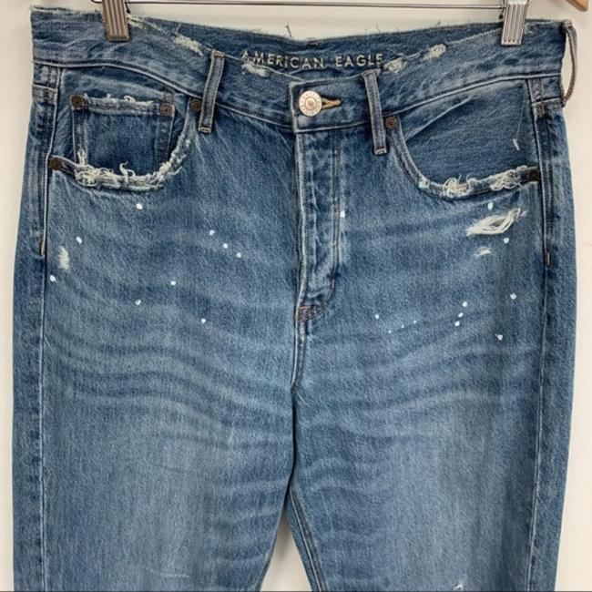 American Eagle Outfitters Blue Medium Wash 90s Distressed Boyfriend Cut Jeans Size 33 (10, M) American Eagle Outfitters Blue Medium Wash 90s Distressed Boyfriend Cut Jeans Size 33 (10, M) Image 3