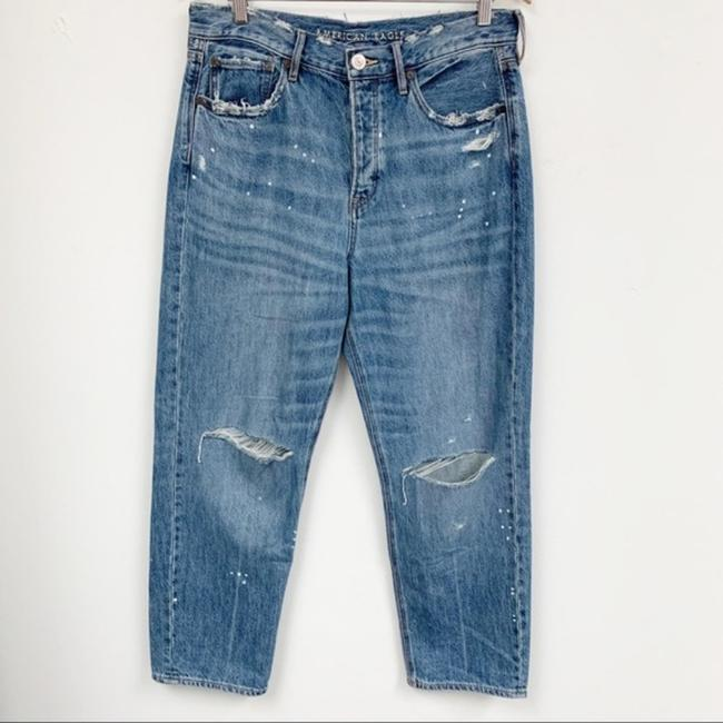 American Eagle Outfitters Blue Medium Wash 90s Distressed Boyfriend Cut Jeans Size 33 (10, M) American Eagle Outfitters Blue Medium Wash 90s Distressed Boyfriend Cut Jeans Size 33 (10, M) Image 10