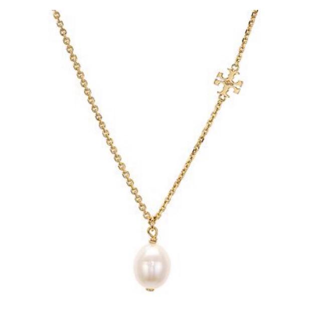 Item - Gold • Freshwater Pearl Logo Necklace
