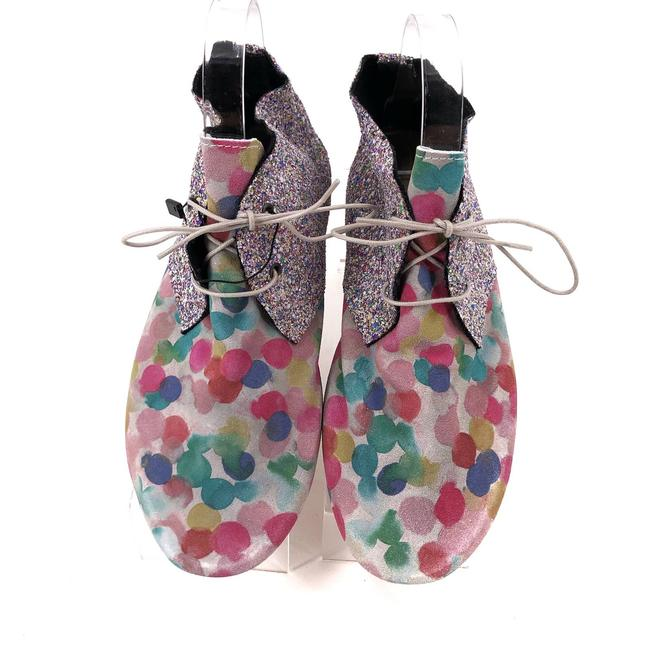 Item - Multicolor Italy Ankle Sparkle Glitter Eu 38 Boots/Booties Size US 7.5 Regular (M, B)