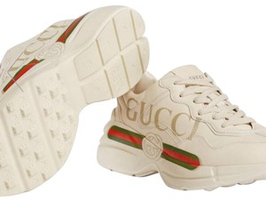 Gucci ivory leather Athletic