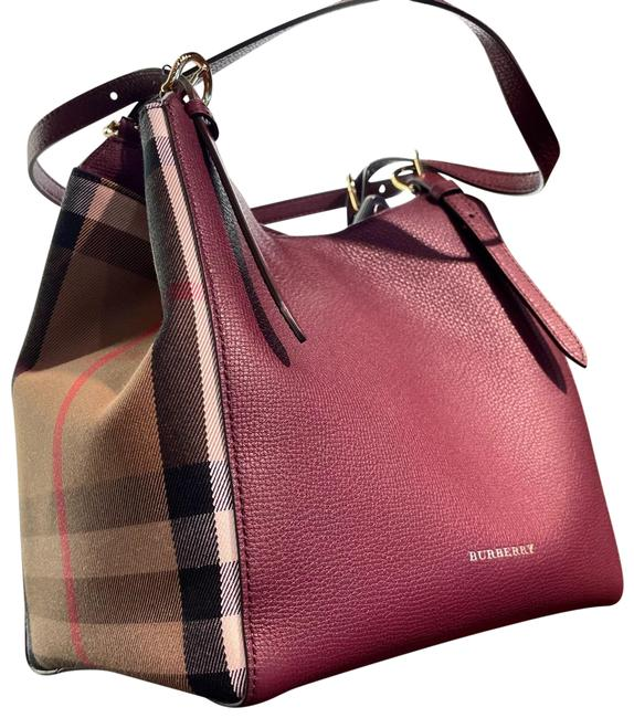 Item - Canterbury / Shoulder Bagg Mahogany Red Leather Tote
