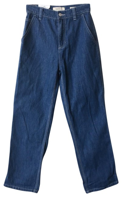 Item - Blue Light Wash Carpenter Relaxed Fit Jeans Size 25 (2, XS)